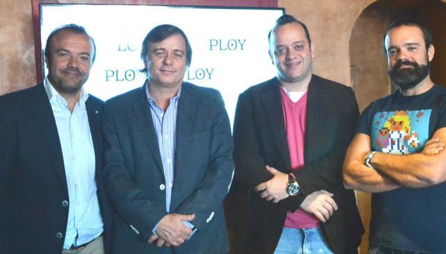 Ejecutivos. Carazo Cepedano, Miguel Branca, José Luis Martínez Bueno (Onthespot) y Campillo Soto.