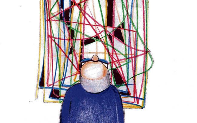 El trabajo social de cuidar la memoria (Ilustración Gustavo Dagnino).