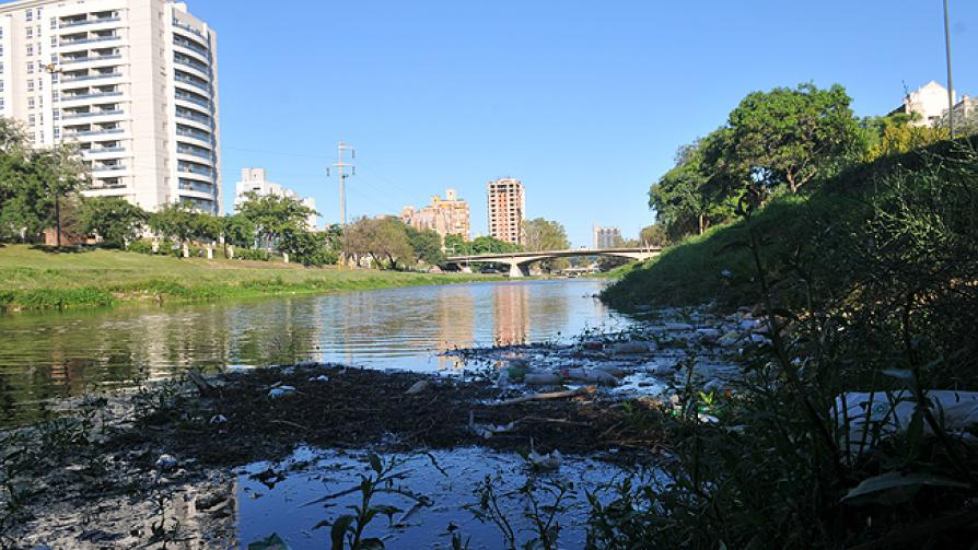 SUQUÍA. Un estudio confirma la altísima contaminación del río (LaVoz/Facundo Luque).