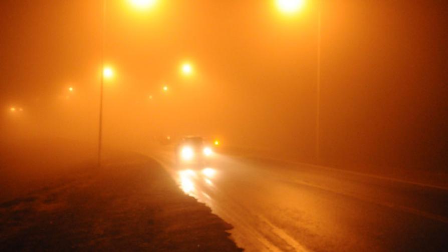 LLUVIA. Entre San Esteban y La Cumbre, la lluvia complicó a los automovilistas (La Voz).