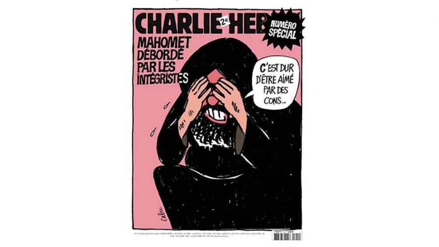 """CHARLIE HEBDO. Publicó una edición especial el 8 de febrero de 2006 en la que se veía una caricatura de Mahoma lamentándose por los fundamentalistas. """"Es difícil ser amado por idiotas"""", decía el dibujo en el que el profeta se tapaba la cara con las manos."""