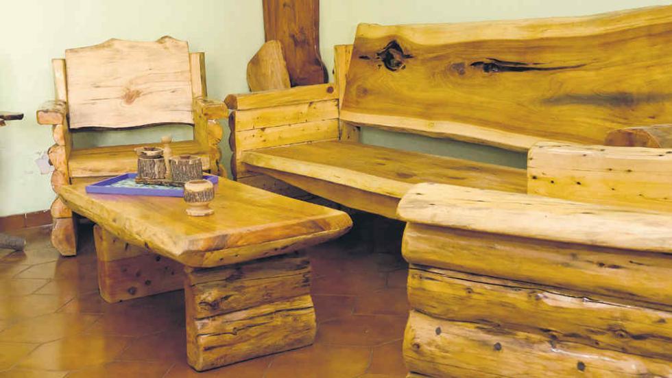 estilos de muebles rusticos: