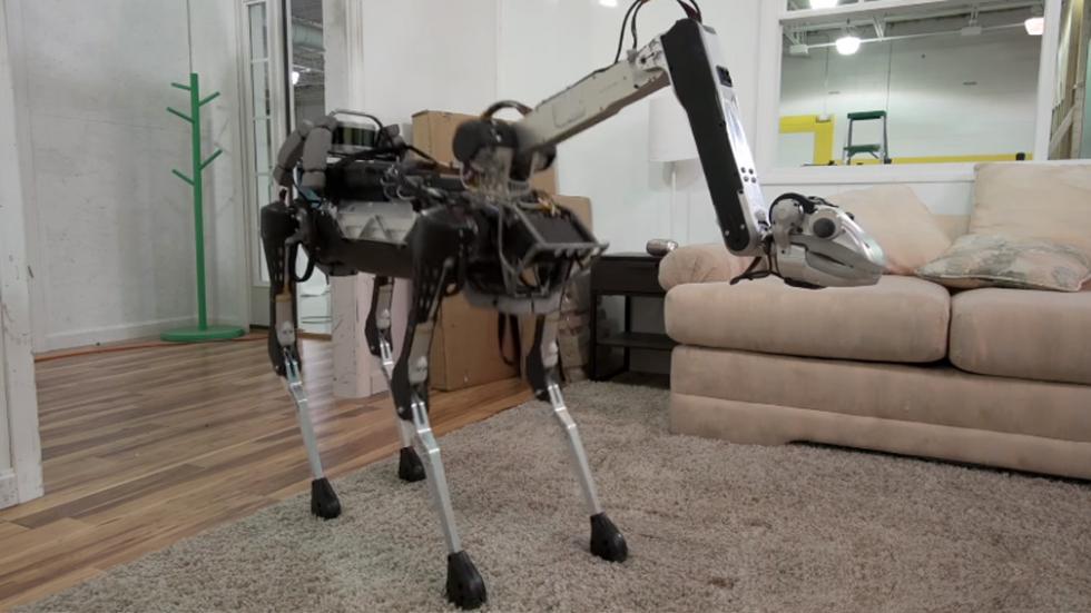 Lo nuevo de Boston Dynamics: el robot doméstico inquietante